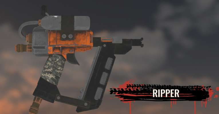 New Weapon Preview: Ripper!
