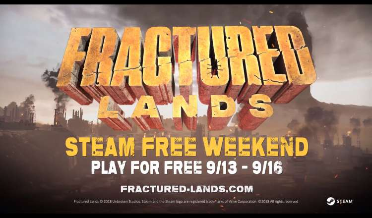 Fractured Lands Free Weekend / Double XP Bonus