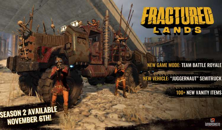 Fractured Lands Season 2 Launches November 6th
